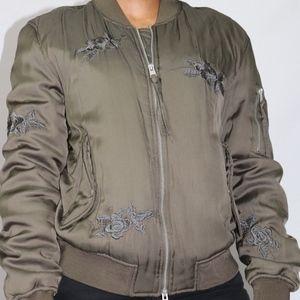 Gender Fluid Army Green All Saints Jacket